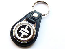 More details for take that white design boy band pop group quality leather and chrome keyring