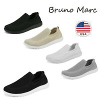 Bruno Marc Men's Casual Slip On Loafer Shoes Mesh Breathable Walking Sneakers