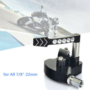 "7/8"" Motorcycle CNC Throttle Speed Control Knob Thumb Lever Bar For Yamaha ATV"