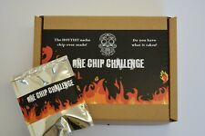One Chip Challenge chilli! Carolina Reaper.not paqui NACHO EXTREAMLY HOT!!!