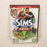 Sims 3 with Pets Expansion Pack with CD Keys Win/Mac DVD Rom