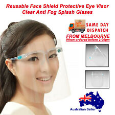 Reusable Face Shield Protective Eye Protective Clear Anti Fog Plastic Shield