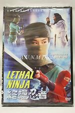 lethal ninja special platinum ntsc import dvd English subtitle