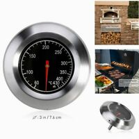 Stainless Steel Oven Thermometer Temperature Gauge Tools Pizza Ovens BBQ Cooker