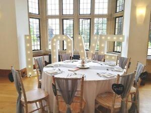 HIRE Giant 5ft Love illuminated Letters White Wedding Decoration Photo Prop