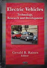 Electric Vehicles Technology, Research & Development