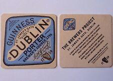 Guinness Dublin Porter Beermat Coaster
