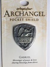 ARCHANGEL GABRIEL POCKET SHIELD - For Protection Peace & Love  Same Day Despatch