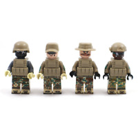 Bausteine Figur Spezialeinheiten Soldat SWAT Waffen Kinder Spielzeug Mini Kind