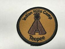 Indian Hills Camp Teepee Summer Jamul CA California Tribe Western Patch M