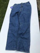 VTG LL Bean Women's High Waist Stonewashed 5 Button Front Mom Jeans Size 14 NWT