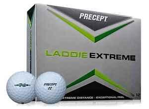 PRECEPT LADDIE EXTREME 4 DZ GOLF BALLS - WHITE - NEW IN BOX