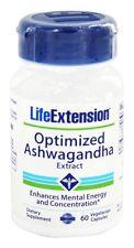 Life Extension - Optimized Ashwagandha Extract - Sensoril - 60 Vegetarian