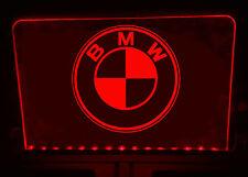BMW illuminato illuminare Firmare La Placca