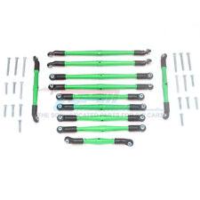 GPM Alum Adjustable Upper & Lower Suspension Links (31Pcs) Set Green : TRX-6