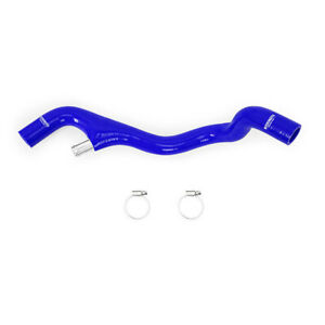 Mishimoto Lower Overflow Hose Fits Ford 6.0 Powerstroke 2005-2007 Blue