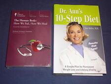 Teaching Co Great Courses DVDs        HUMAN BODY HOW WE FAIL HEAL    new + BONUS