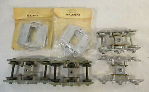 O Scale Vintage Walthers Passenger Car Parts - Trucks & Ends