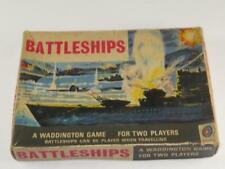 "Vintage Waddington's ""Battleships"" Game Boxed 1960s"