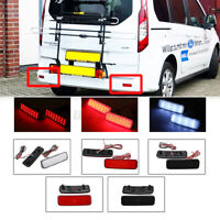 2X LED Rear Bumper Reflector Reverse Brake Light For Ford Transit Connect  #!