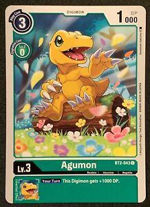 Agumon | BT2-043 C | Green | Common | Special Booster VER.1.0 | Digimon TCG