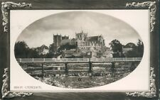Postcard Yorkshire Ripon Cathedral posted 1909 Rotary Real photo