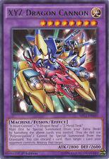 XYZ-Dragon Cannon Rare Yugioh Card MIL1-EN040