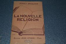 La nouvelle religion Livre I Georges Bagulesco (D2)