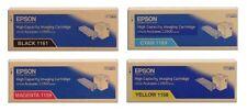 4 Original Toner EPSON Aculaser C2800 C2800N C2800DN / 1161 1160 1159 1158 - OVP