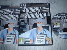 SURGERY SIMULATOR ~ PC GAME PC CD-ROM WITH INSTRUCTIONS