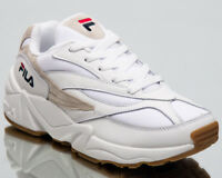 Fila Venom Low Women's White Beige Low Athletic Casual Lifestyle Sneakers Shoes