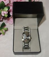 ROVEN DINO SAVOY UNISEX STAINLESS STEEL SWISS MADE WATCH NEW