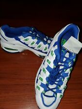 Puma Cell Endura Patent Running Shoe Size 12 Blue White Green Art 36963301 NEW