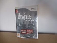 The Beatles Rockband for Nintendo Wii  NEW SEALED PAL VERSION
