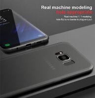 Schutzhülle Samsung Galaxy S8 Hülle Carbon Fiber Tasche Case  Matt Schwarz