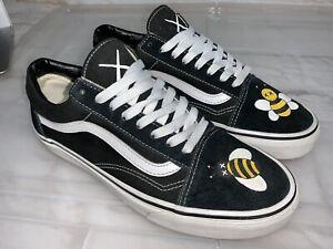 VANS Old Skool X Kaws Bee Sneakers - Mens US 9 #22317