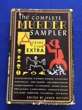THE COMPLETE MURDER SAMPLER - FIRST EDITION FEATURING RAYMOND CHANDLER