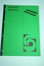 BANG & OLUFSEN-b&o - Beocenter 9300-Service manual