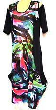 plus sz XS / 14 TS TAKING SHAPE Tropic Overlay Dress stunning sexy sheer NWT!