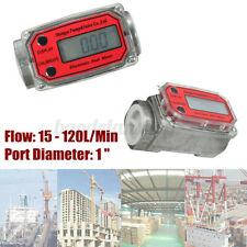 Turbine Digital Diesel Fuel Flow Meter Oval Gear Flow Gauge Bsptnpt 1
