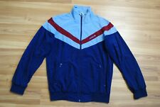 1980s ADIDAS JACKET VINTAGE TRIACETAT MAN SIZE D48 (S) MADE IN WEST GERMANY TOP