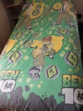 Vintage Ben 10 Single Quilt Cover. 100% Polyester. Good condition for age