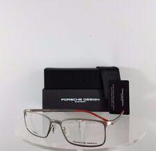 New Authentic Porsche Design P 8254 A Eyeglasses Titanium P'8254 Matte Silver