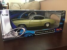 1972 Chevrolet Chevelle SS 454 Special Edition Maisto 1:18