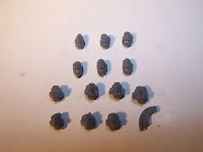 13 Space Marine Sternguard Veteran Heads (bits auction), 40K Games Workshop