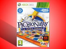"""PICTIONARY LA SFIDA FINALE """"RICHIEDE UDRAW"""" GIOCO PER XBOX 360 NUOVO SIGILLATO!"""