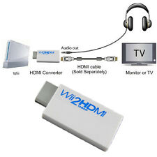Wii To HDMI 720P/1080P Upscaling Converter Adapter with 3.5mm Audio Output