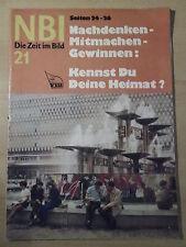 NBI 21-1971 * Honecker Ulbricht Salpeter Schach DDR-Handballteam VEB Kühlautomat