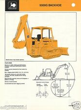 Equipment Brochure - John Deere - 9300B - Backhoe - 1987 (EB417)