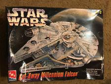 AMT ERTL Star Wars Millennium Falcon Cut-away Huge 1/60 Scale Model Open Box